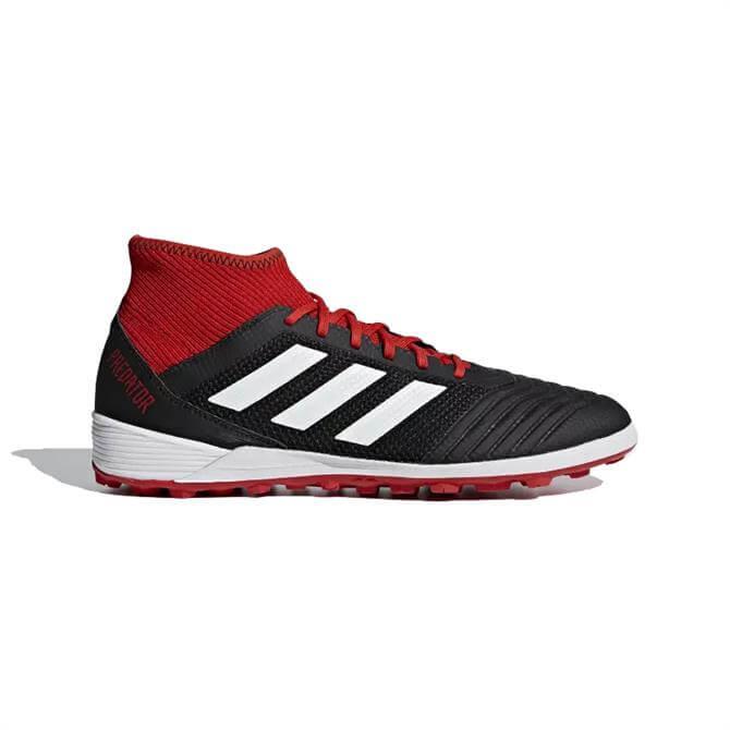 Adidas Predator Tango 18.3 Turf Boots- Black/Red