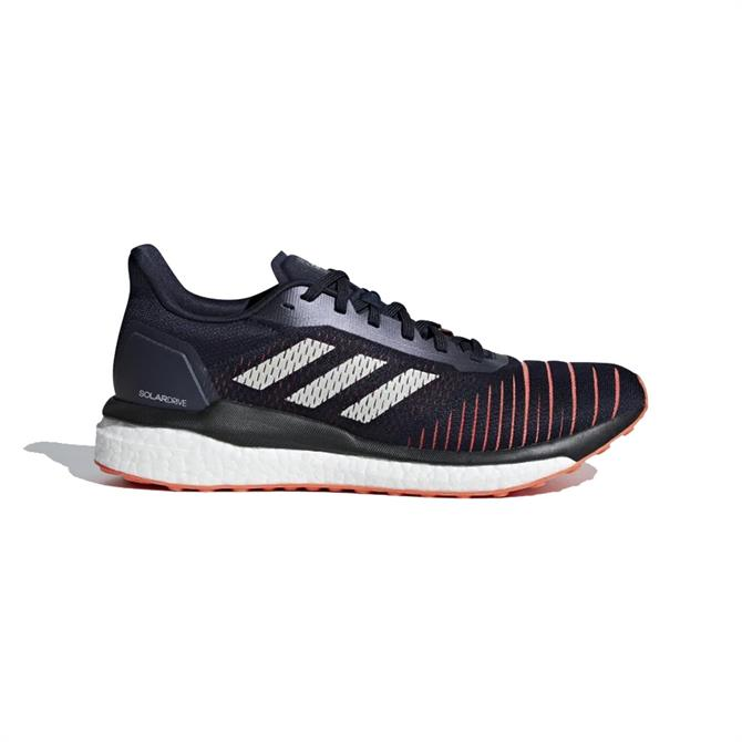 Adidas Men's Solar Drive Running Shoes - Ink White