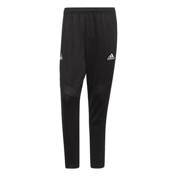 Adidas Men's TAN Football Training Tracksuit Bottoms - Black