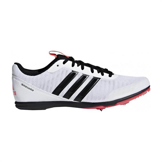Adidas Women's Distance Star Spike Track Running Shoe - White