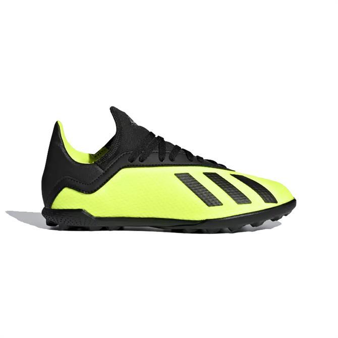 Adidas Junior X Tango 18.3 Turf Football Football- Solar Yellow
