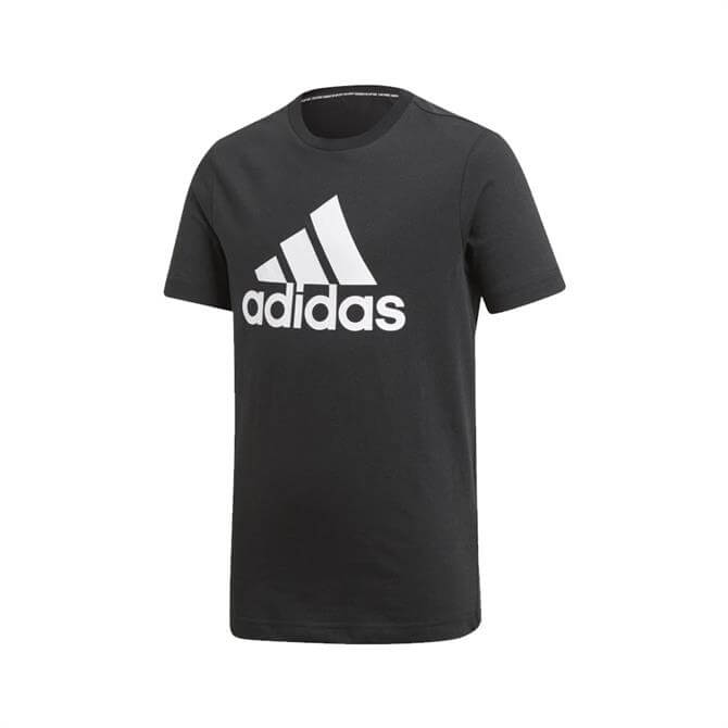 Adidas Kid's Must Haves Badge of Sport T-Shirt - Black
