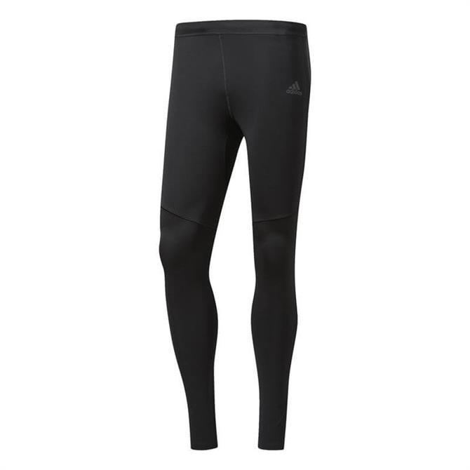 Adidas Men's Response Long Training Tights- Black