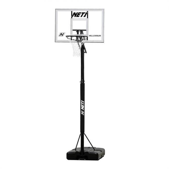 NET1 Millennium Portable Basketball Hoop System