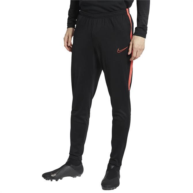 Nike Men's Dri-FIT Academy Training Pants - Black/Ember Glow