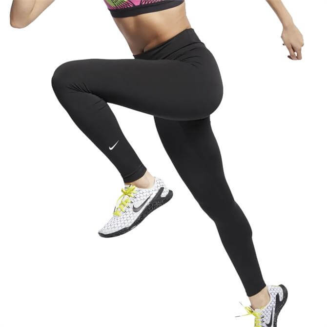 Nike Women's The One Fitness Tights - Black/White