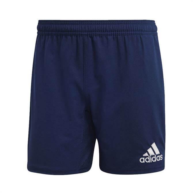 Adidas Men's Classic 3 Stripe Ruby Shorts- Navy/White