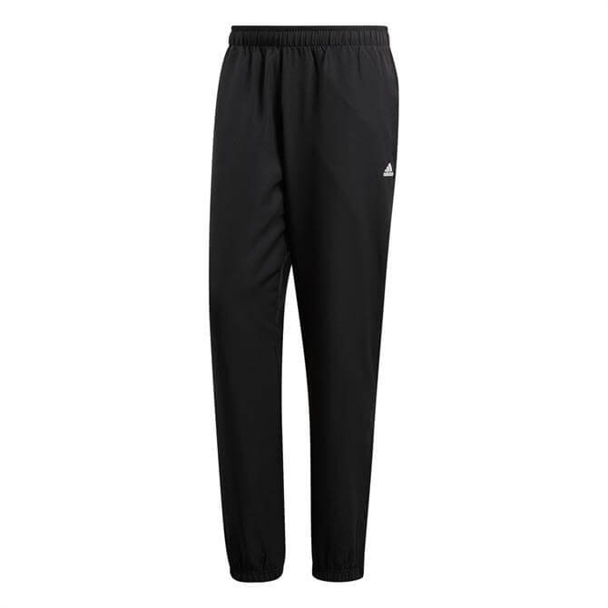 Adidas Men's Climacool Woven Tracksuits Bottoms- Black