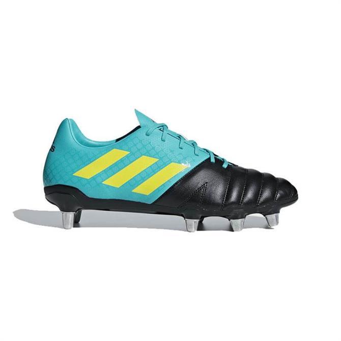 Adidas Men's Kakari Soft Ground Rugby Boots-Hi-Res Aqua