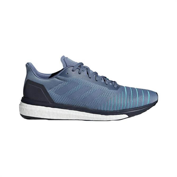 Adidas Men's Solar Drive Running Shoes- Raw Steel