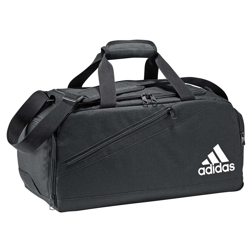 An image of Adidas IIC FB Team Bag - L, BLACK/WHITE