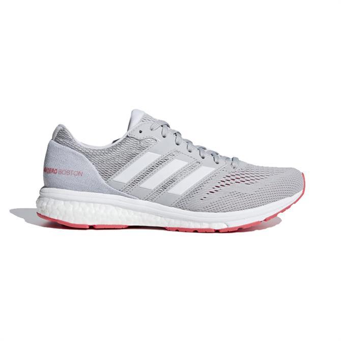 Adidas Women's Adizero Boston 7 Running Shoes - Grey Two