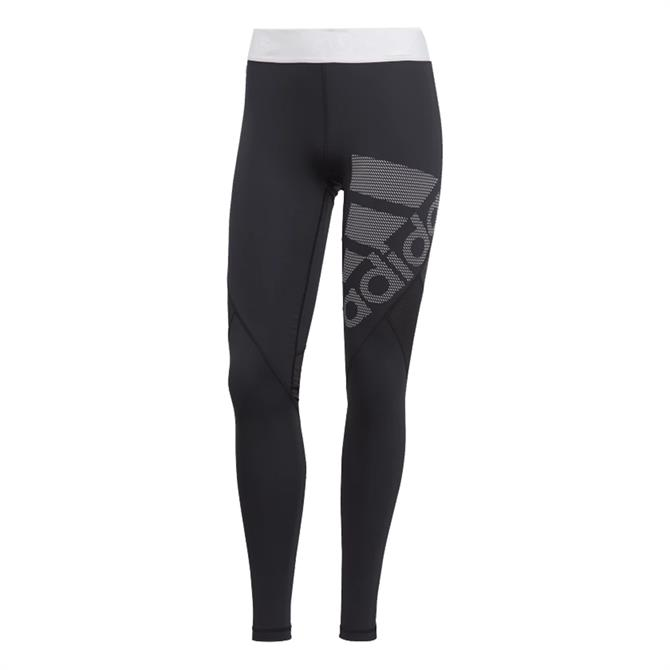 Adidas Women's Alphaskin Sport Long Tights- Black