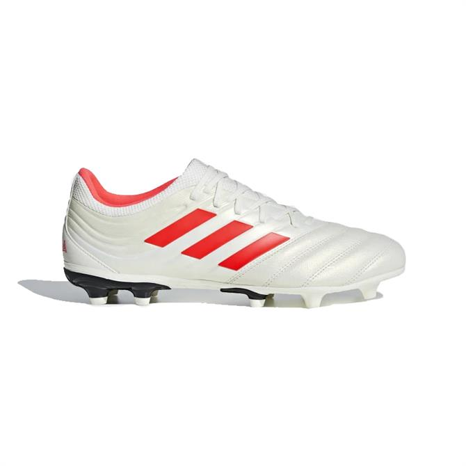 Adidas Men's Copa 19.3 Firm Ground Football Boots - Off White