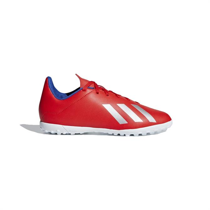 Adidas Kids X Tango 18.4 TF Football Boots - Active Red