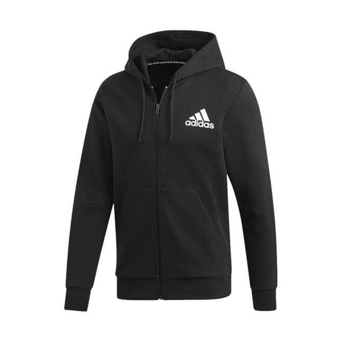 Adidas Men's Must Haves Plain Fitness Jacket - Black