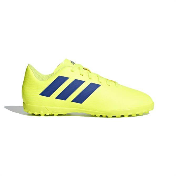 Adidas Junior Nemeziz 18.4 Turf Football Boots - Solar Yellow