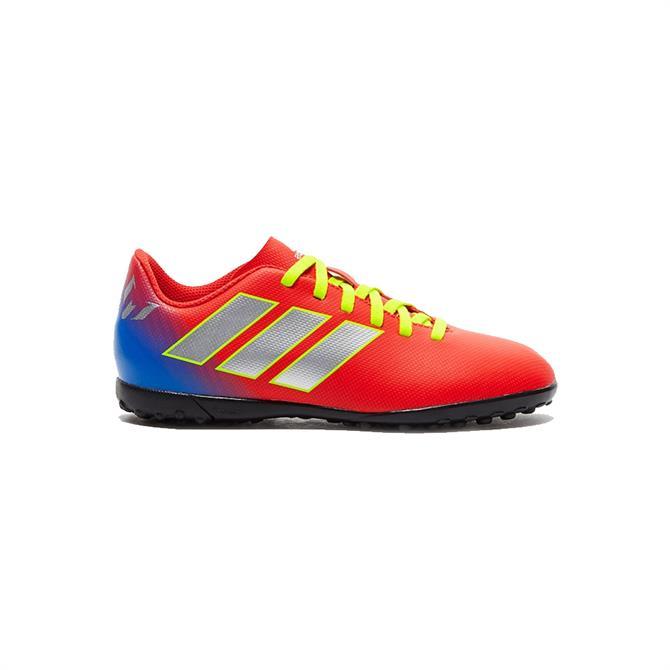 Adidas Kids Nemeziz Messi Tango 18.4 TF Football Boots - Active Red