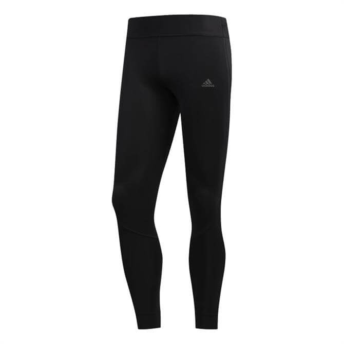 Adidas Women's Own the Run Training Tights - Black/Legend Purple