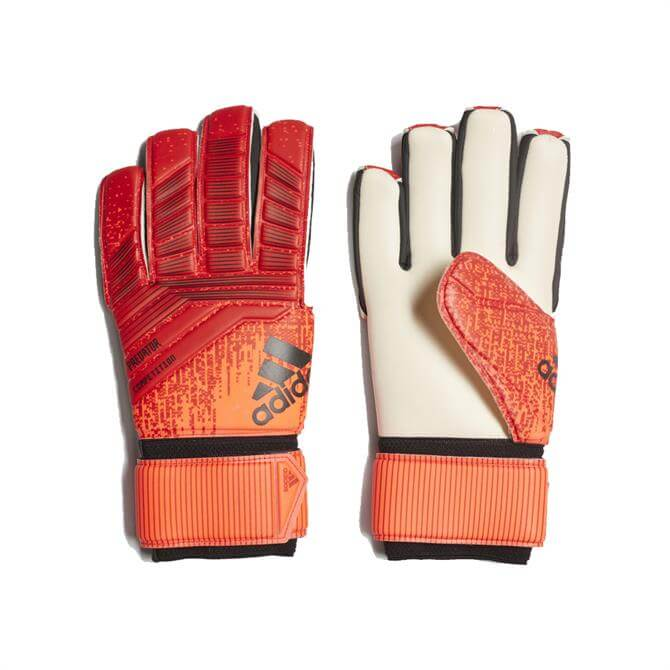 Adidas Predator Competition Football Gloves - Active Red