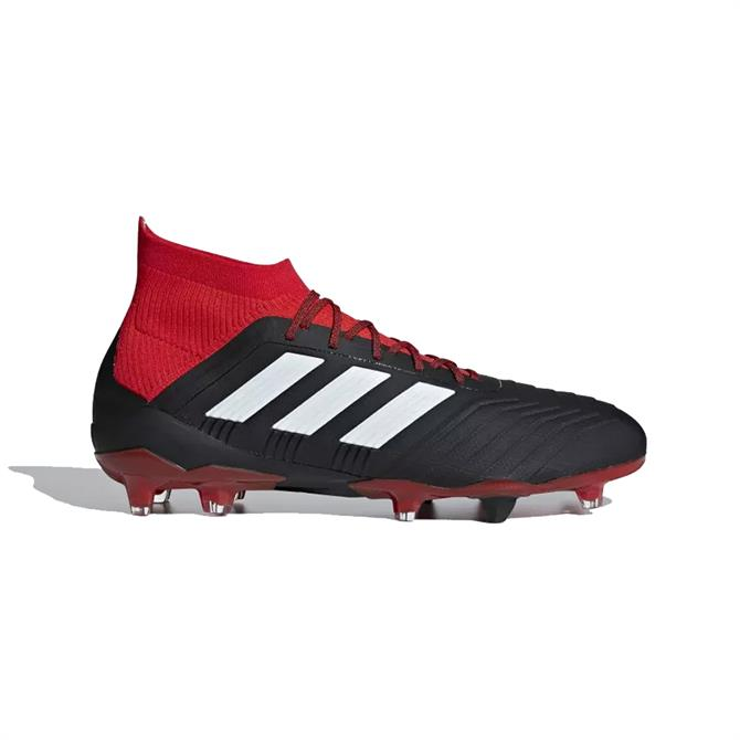 Adidas Men's Predator 18.1 Firm Ground Football Boot- Black