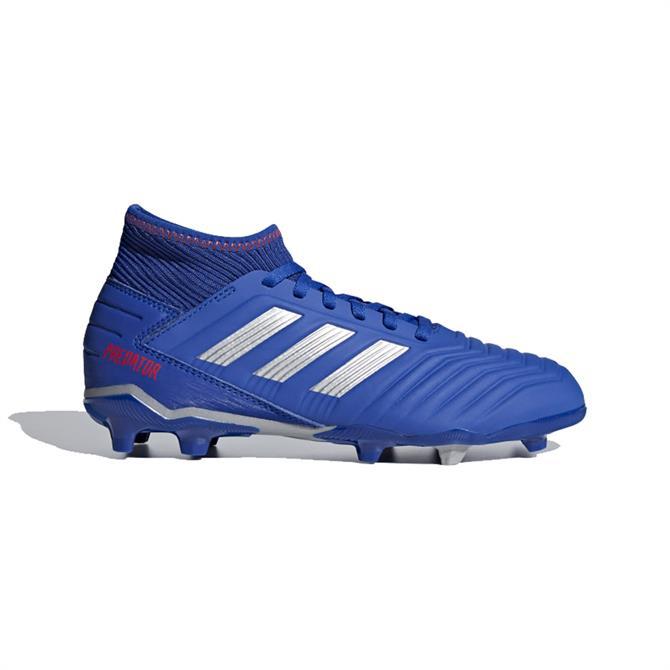 Adidas Junior Predator 19.3 Firm Ground Football Boots - Bold Blue