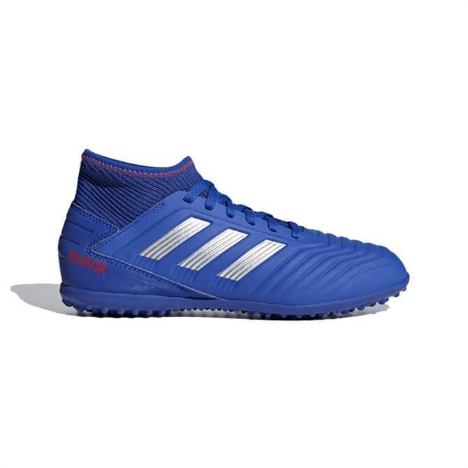 Adidas Junior Predator Tango 19.3 Turf Football Boots - Bold Blue