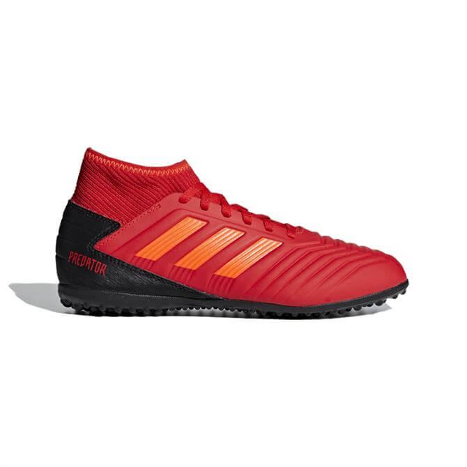 Adidas Junior Predator Tango 19.3 Turf Football Boots - Active Red