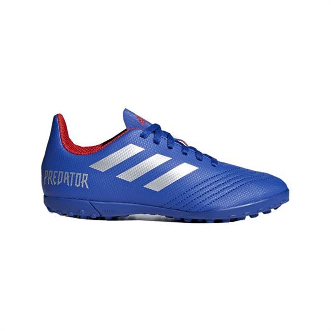 Adidas Junior Predator 19.4 Turf Football Boots - Bold Blue