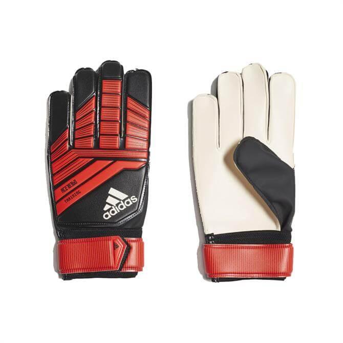Adidas Predator Train Goal Keeper Gloves - Black
