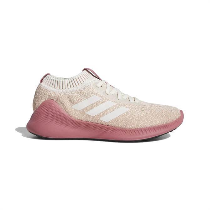 Adidas Women's Purebounce+ City Running Shoes- Pink