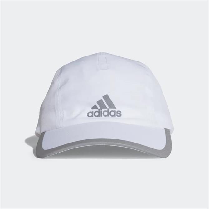 Adidas Climalite Running Cap - White