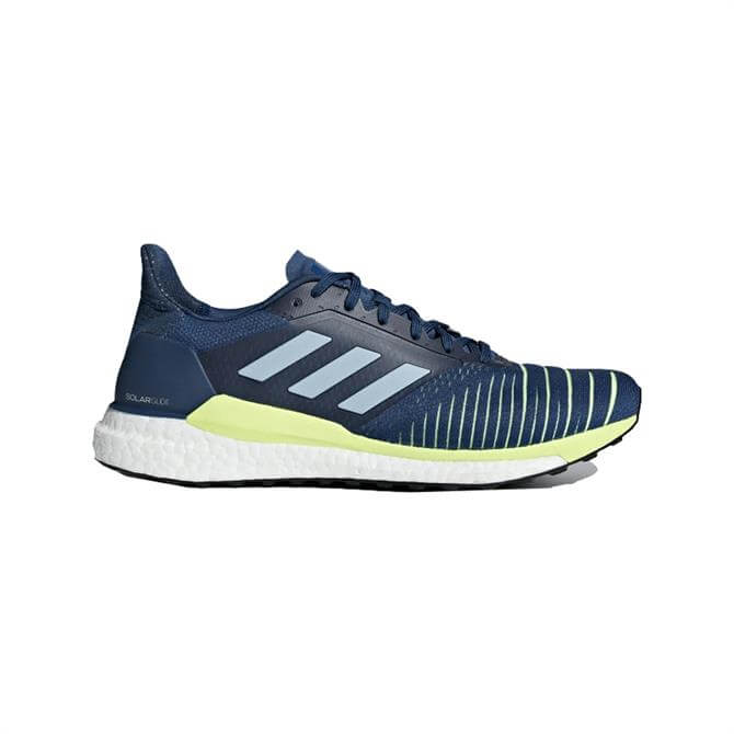 Adidas Men's SolarGlide Running Shoes - Legend Marine