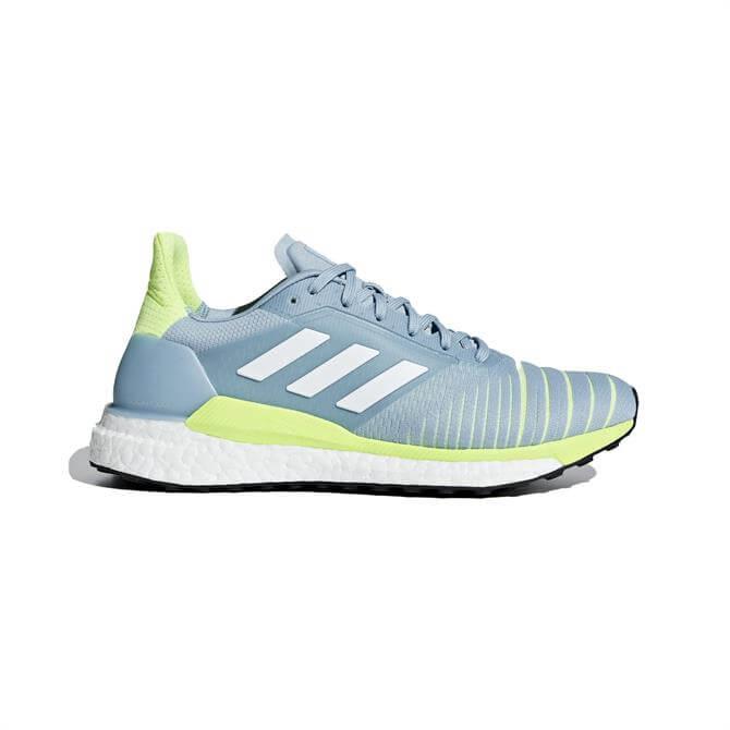 Adidas Women's Solar Glide Running Shoes - Ash Grey