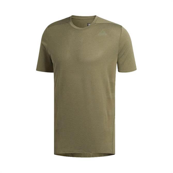 Adidas Men's Supernova Fitness T-Shirt - Raw Khaki