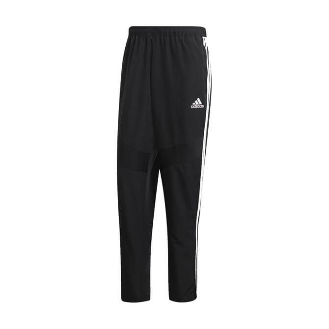 Adidas Men's Tiro 19 Woven Football Training Pants - Black
