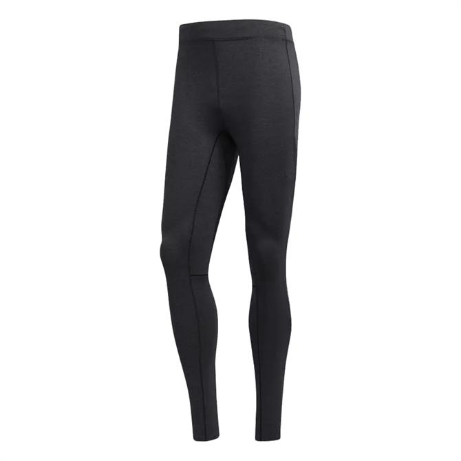 Adidas Men's Ultra Fitness Tights- Black/Night Grey