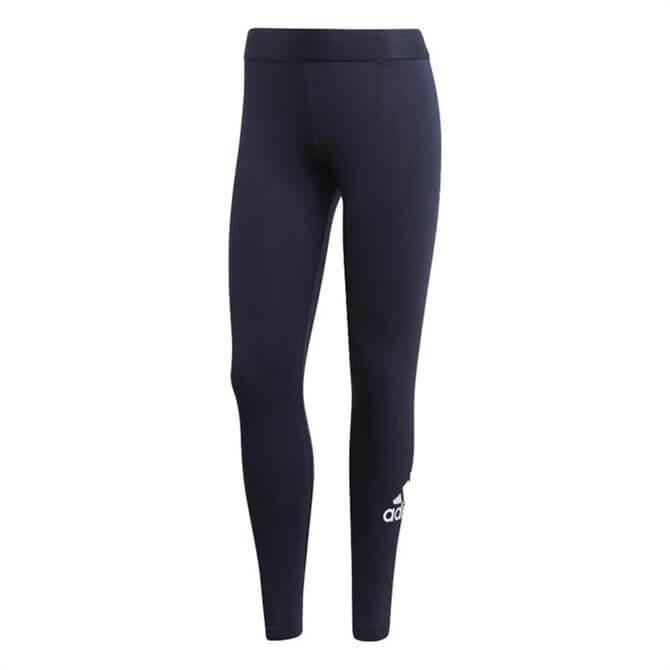 Adidas Women's Must Have Badge of Sport Fitness Tights - Legend Ink