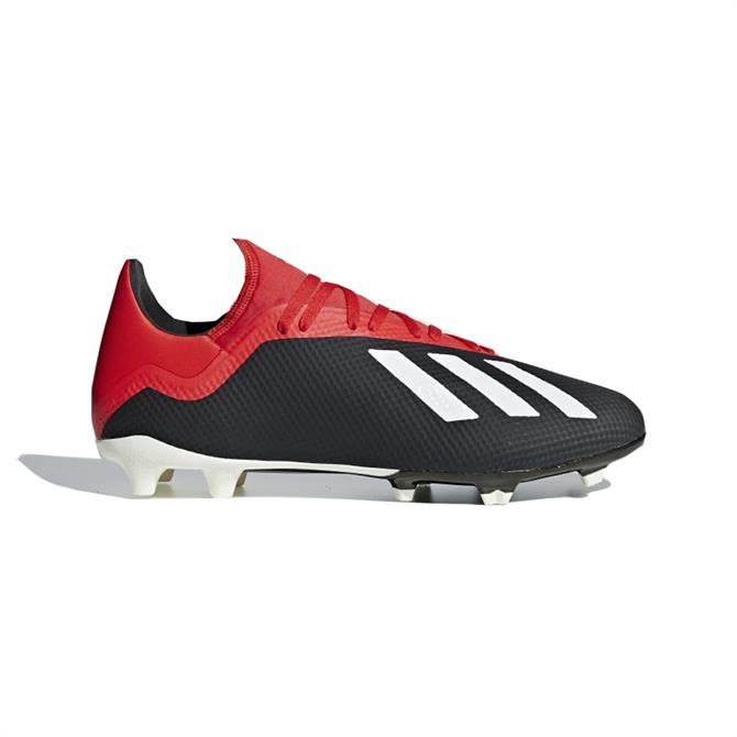 Adidas Men's X 18.3 Firm Ground Football Boot - Core Black