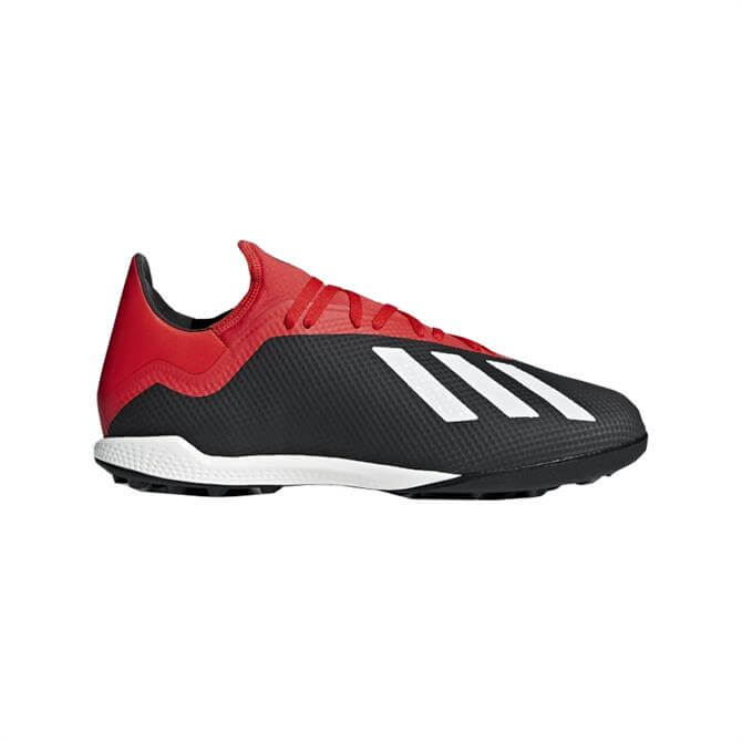 Adidas Men's X Tango 18.3 Turf Football Boots - Core Black