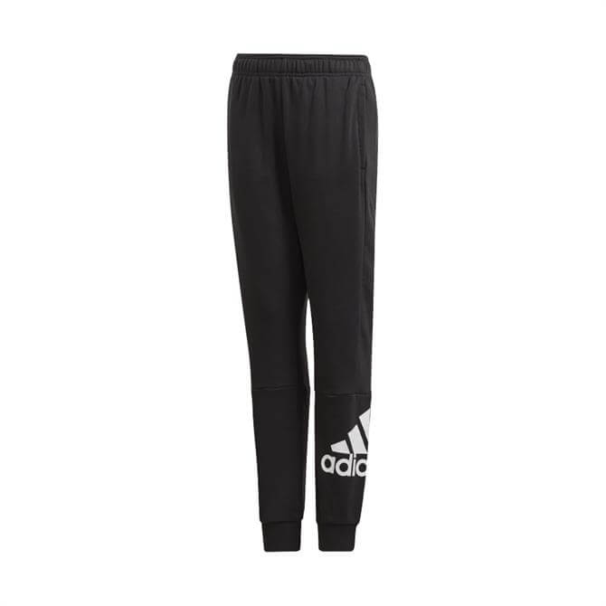 Adidas Junior Must Have Tracksuit Bottoms - Black