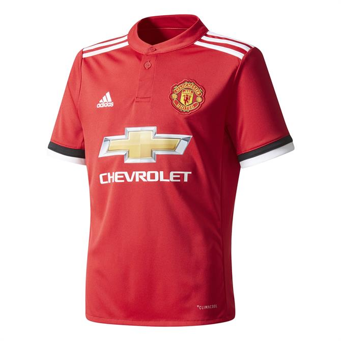 Adidas Junior Manchester United Football Club Jersey 2017/18