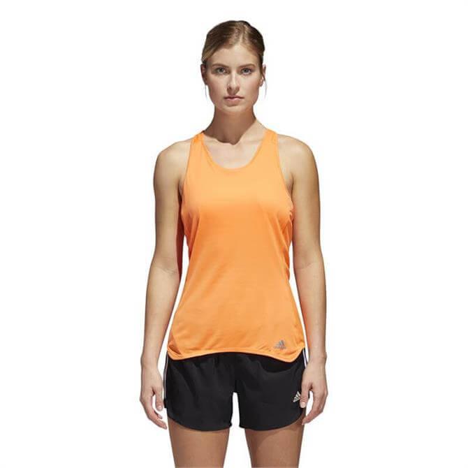 Adidas Response Cup Tank- Hi-Res Orange