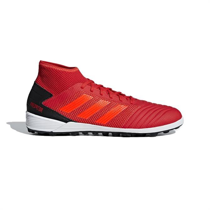 Adidas Men's Predator 19.3 Turf Football Boots- Active Red
