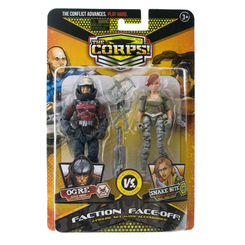 An image of The Corps Faction Face Off Assorted