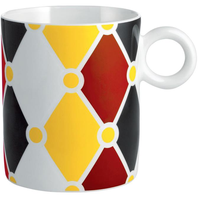 Alessi Circus Diamond Pattern Mug