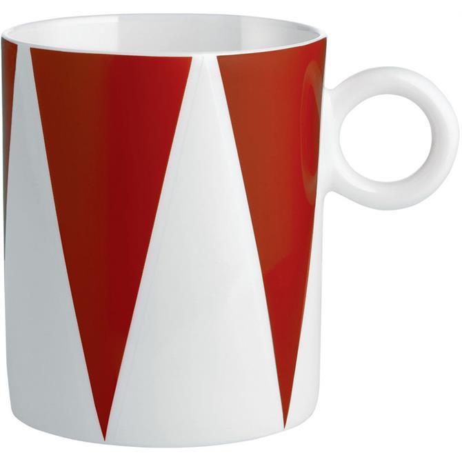 Alessi Circus Triangles Mug