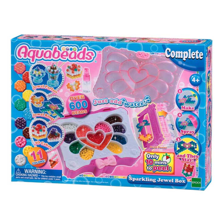 An image of Aquabeads Sparkling Jewel Box