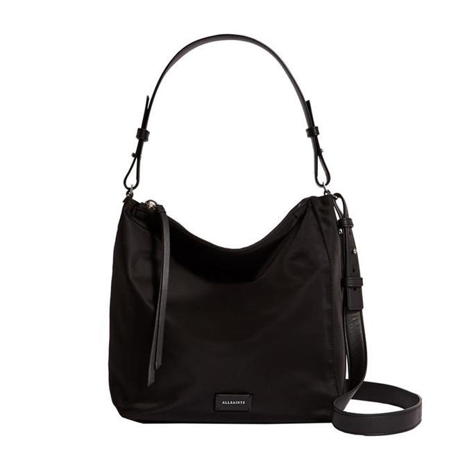 AllSaints Nilo Kita Black Cross Body Bag