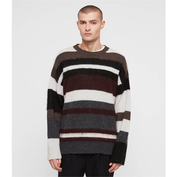 AllSaints Striley Crew Jumper